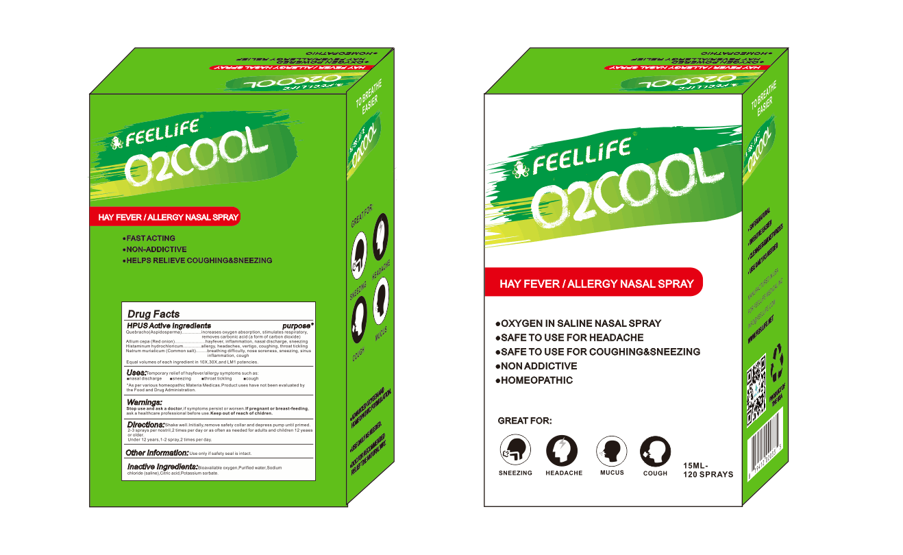 O2COOL HEY FEVER/ ALLERGY NASAL SPRAY Featured Image