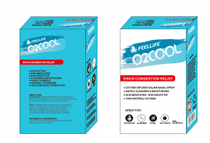 O2COOL SINUS CONGESTION RELIEF