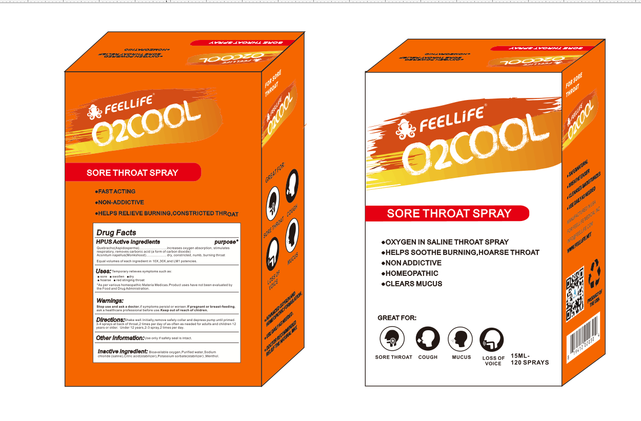 O2COOL SORE THROAT SPRAY Featured Image