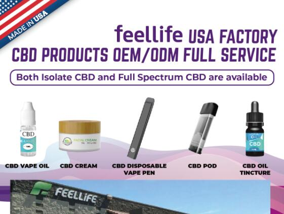 feellife USA factory CBD OEM vaping