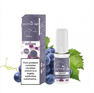 Grape garam nikotin e-cair
