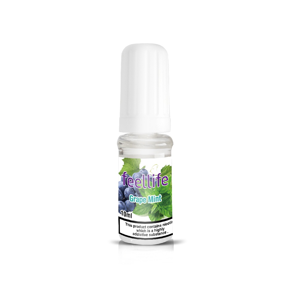 Grape Mint nicotine salt e-liquid Featured Image