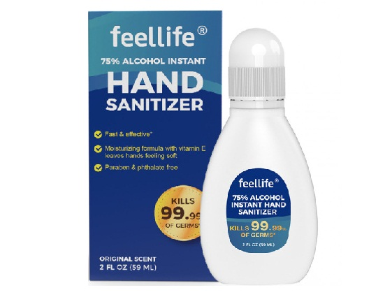 hand sanitizer with alcohol