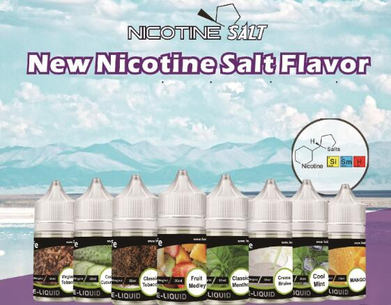 nicotine salt vaping