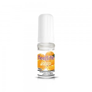 Orange nicotine salt e-liquid