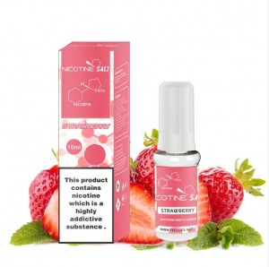 Strawberry nicotine salt e-liquid