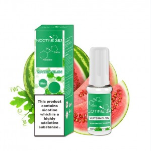 Watermelon nicotine salt e-liquid
